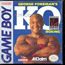 GB: GEORGE FOREMANS KO BOXING (GAME)